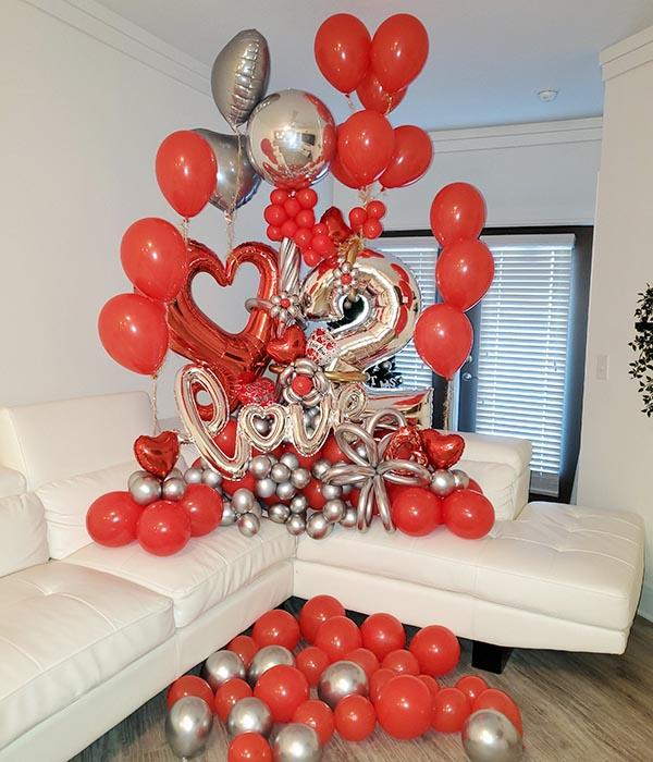 Bouquets love aniversario