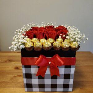 Caja de rosas Amanda
