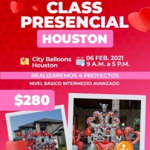 Valentine's class presencial – Houston