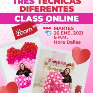 Tres corazones, tres técnicas diferentes Class Online