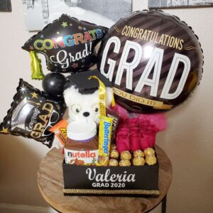 Caja sorpresa graduación