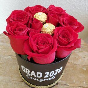 Caja de rosas Grad