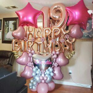 Birthday happy birthday star