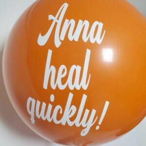Jumbo balloons orange