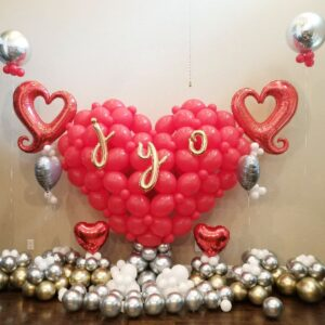 Giant heart decoration